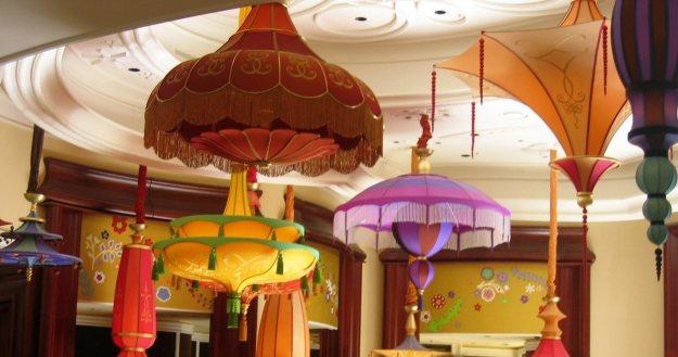 Wynn parasols Las Vegas