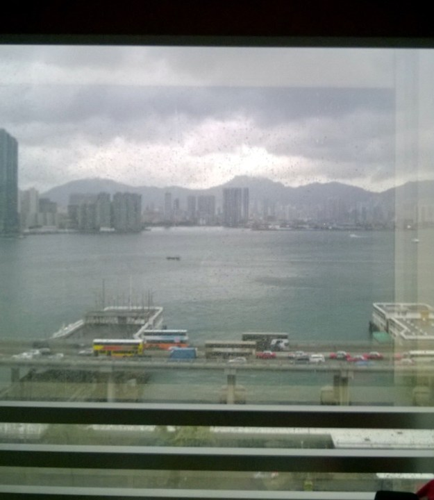 Ibis North Point room view Hong Kong Victoria Harbor