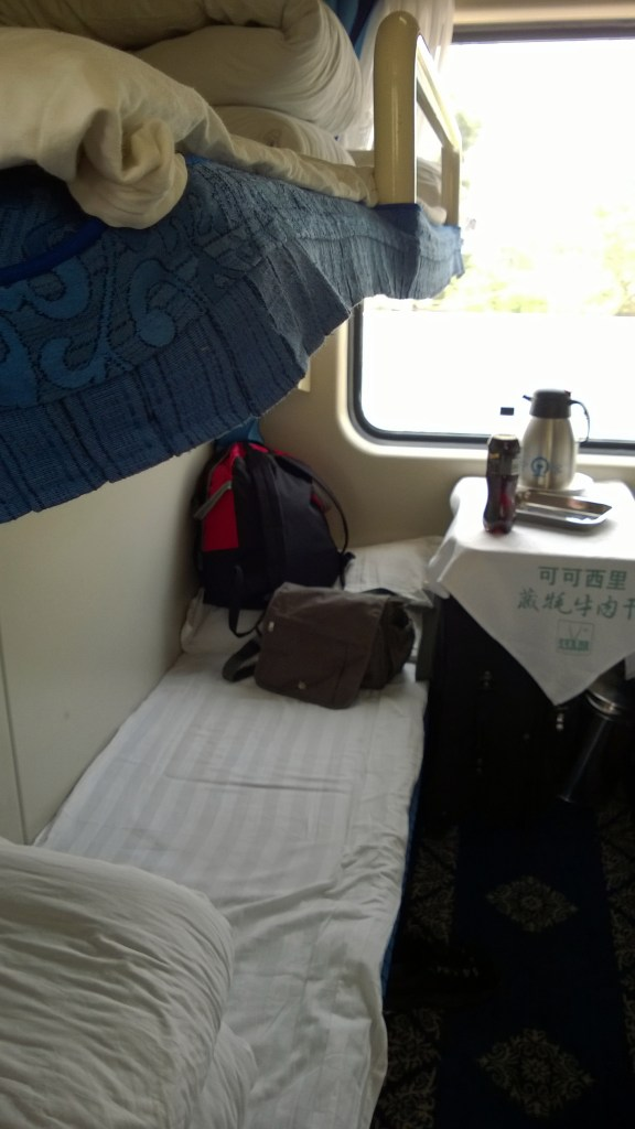 hard sleeper bottom bunk china train to lhasa
