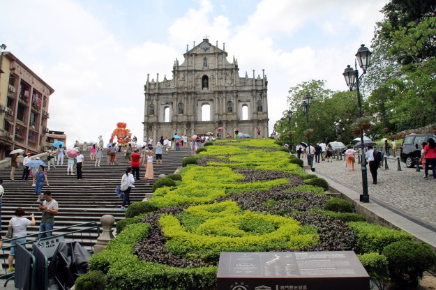 St Paul's ruins Macao China
