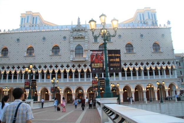 Venetian exterior Macau China