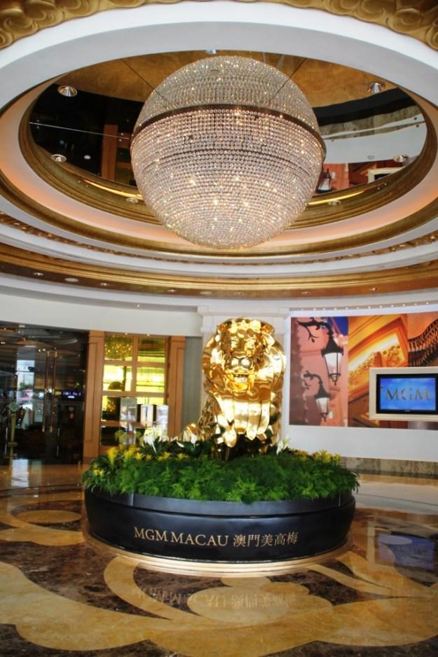 mgm  macau entrance