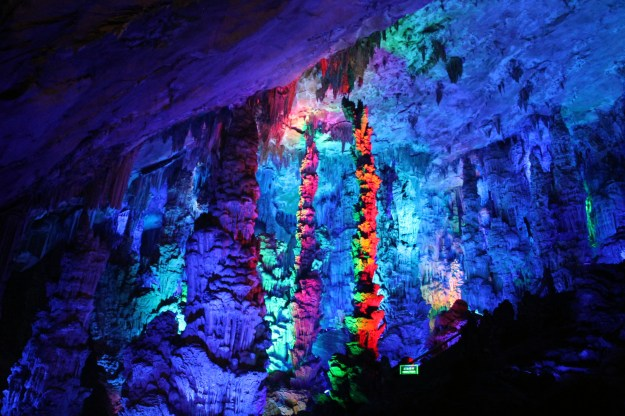 Reed Flute Cave in Guilin, China