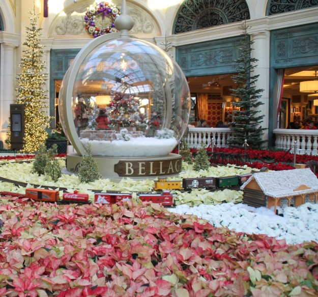 Bellagio Las Vegas snow globe