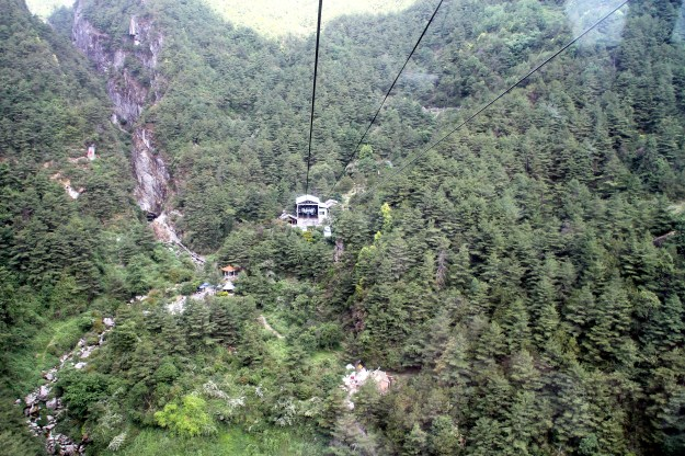 cangshan mountain cable car