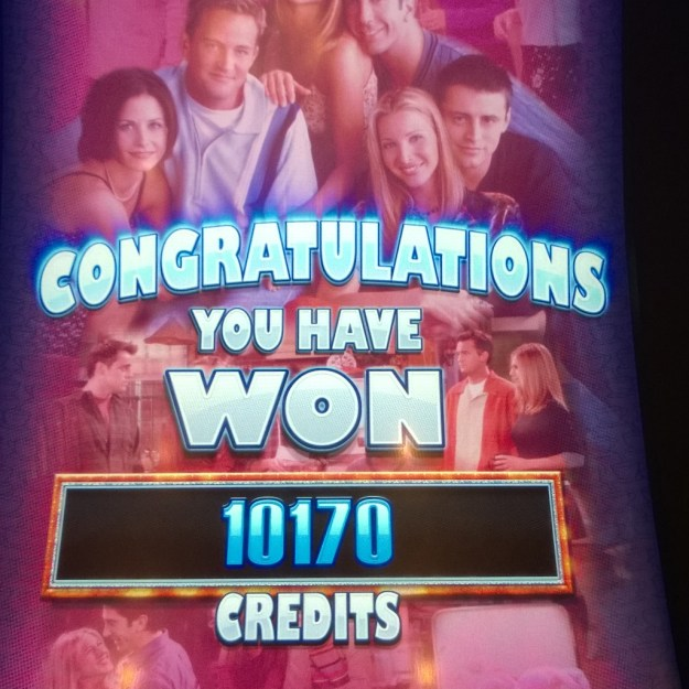 friends slot machine win