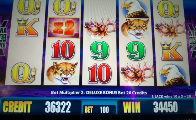 buffalo slot machine 34450 win borgata atlantic city
