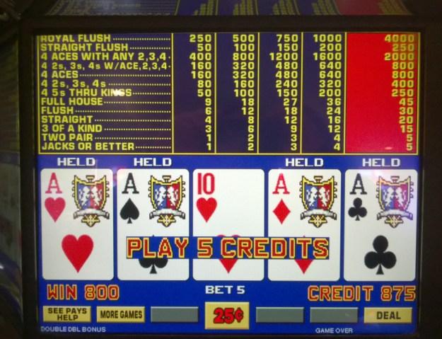 dealt aces