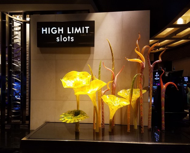 chihuly mirage las vegas high limit slots