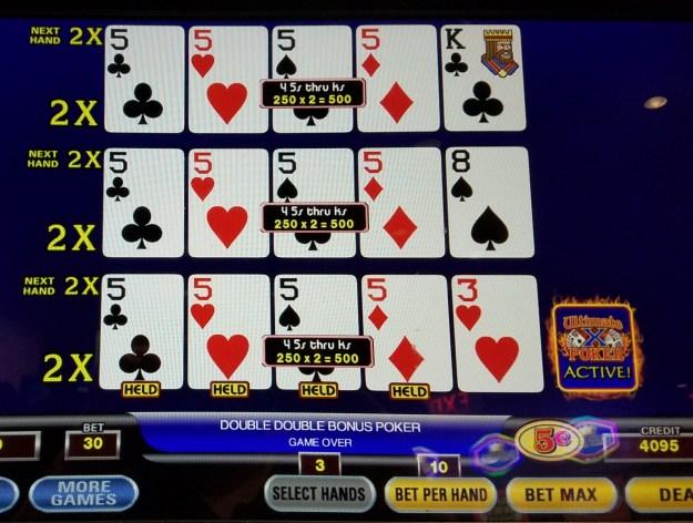 ultimate x dealt fives ballys atlantic city