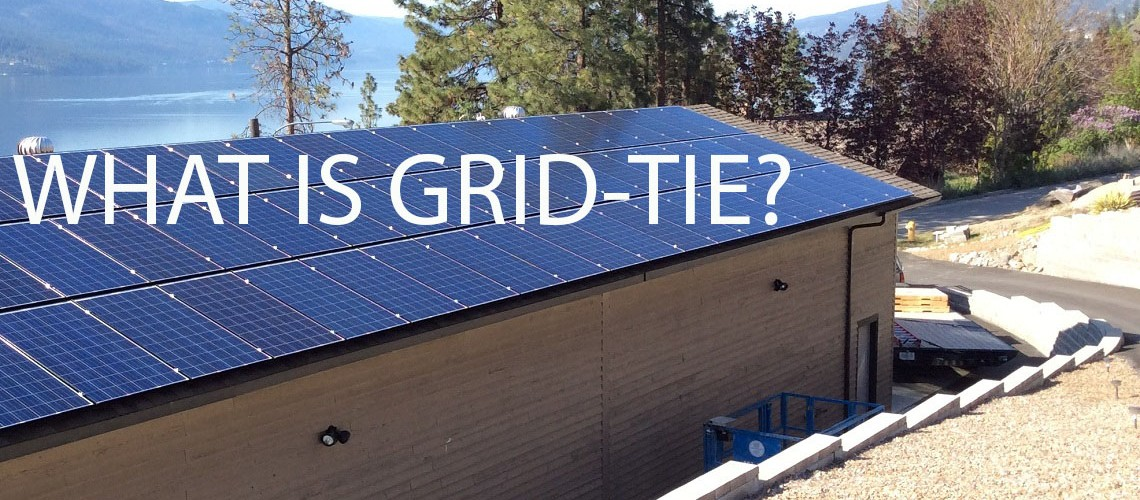 A Grid Tie System Is A Home Investment