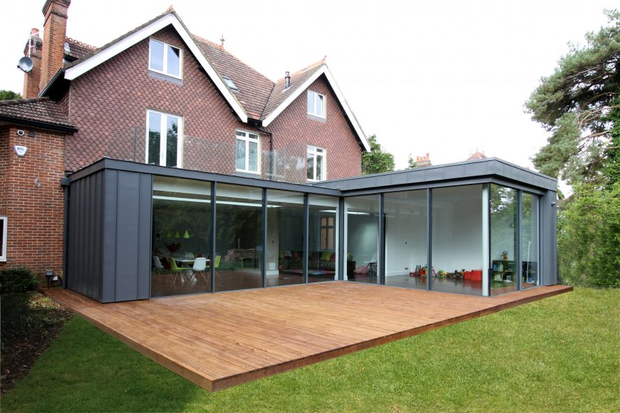 Glass Roof Extension Create A Roof Terrace