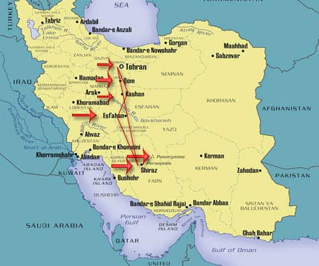 map-iran_shiraz_isfahan-kashan