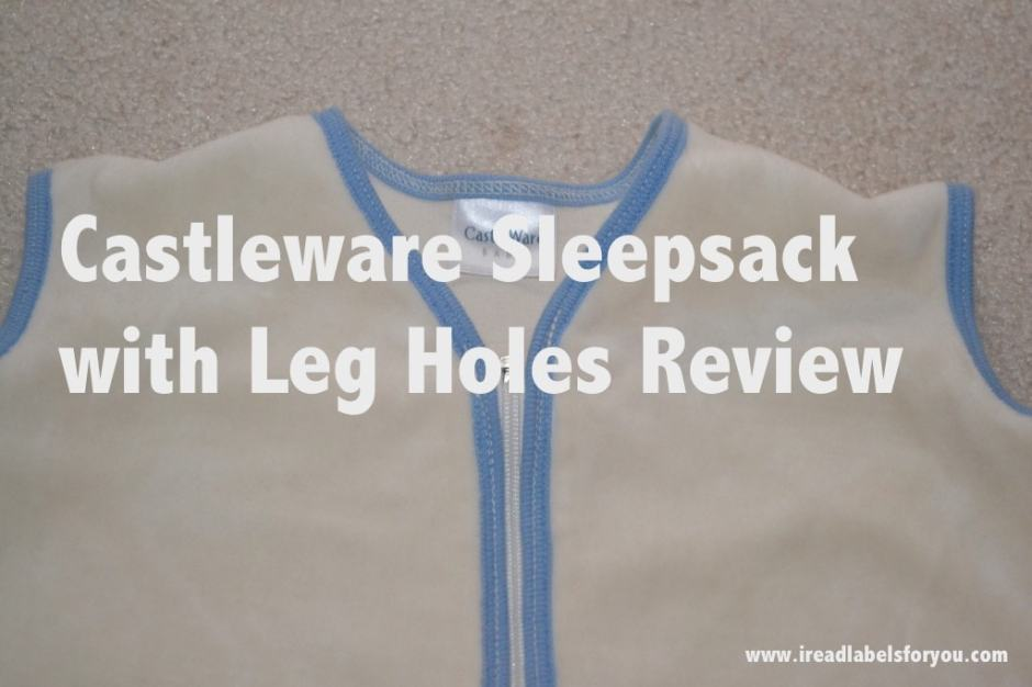 Castleware Sleepsack with Leg Holes Review