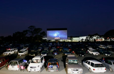 lunar drive in theatre
