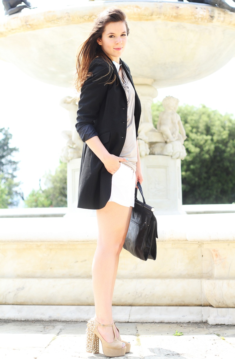 Blazer Long Bon Ton Studded Jeffrey Campbell: Outfit Of The Day