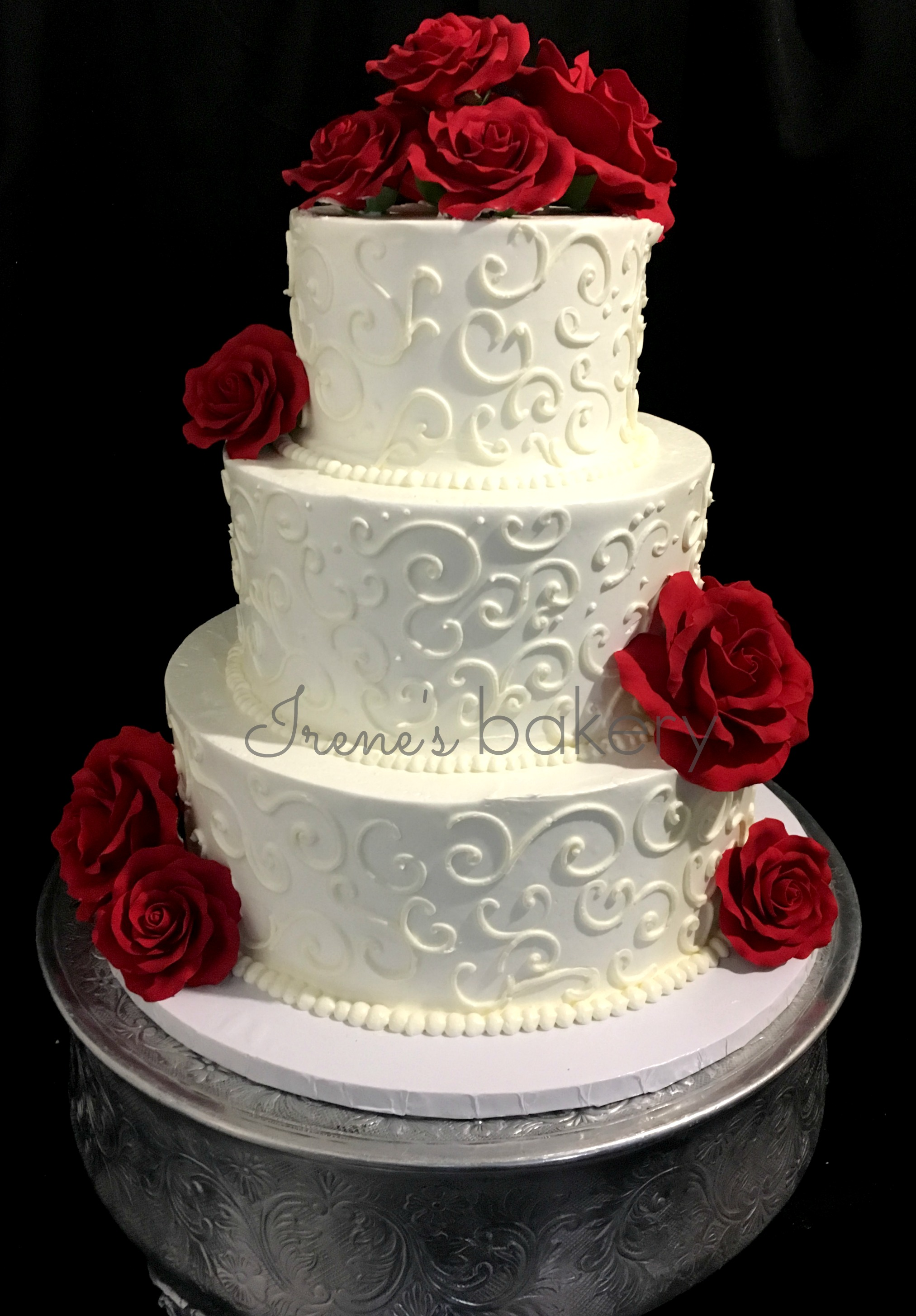Home Sweet Home Wedding Cakes - Irenes Bakery