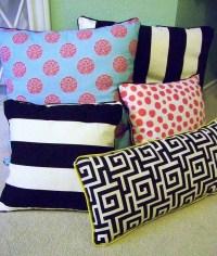 DIY No Sew Pillows | AllFreeSewing.com