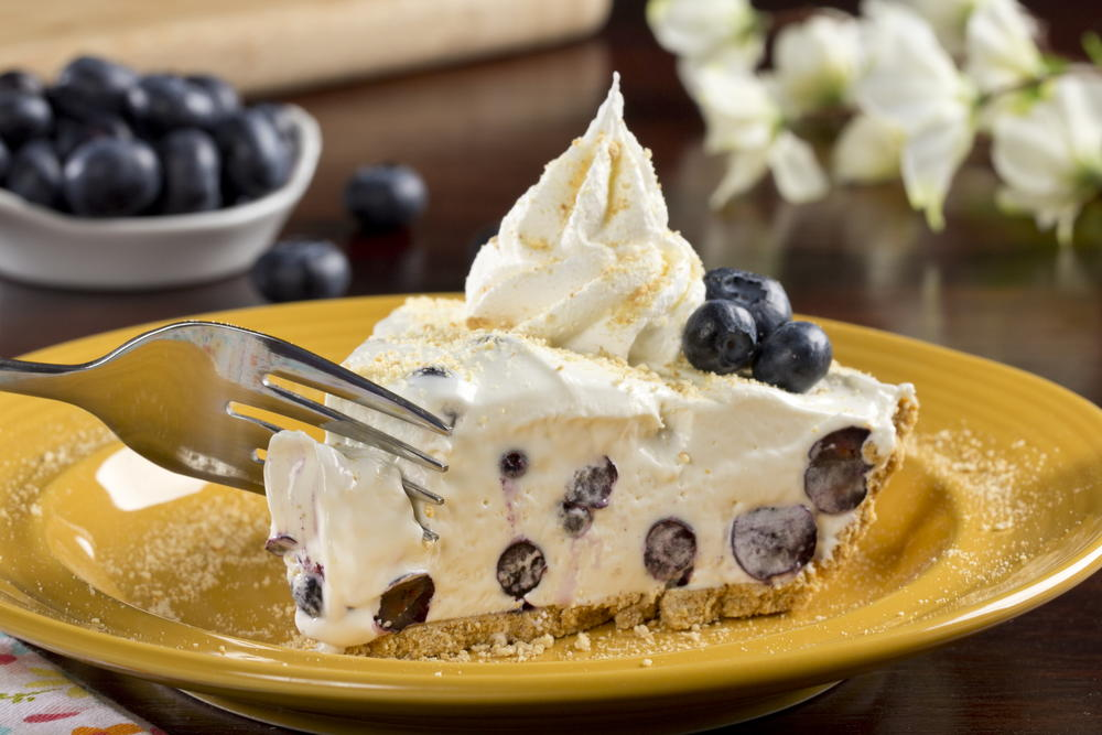 Toast Rezepte Blueberry Cream Pie | Mrfood.com