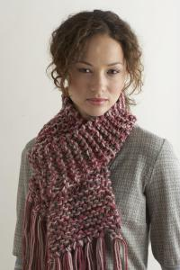 Knit Two Hours or Less Scarf | FaveCrafts.com