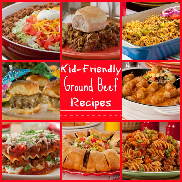 25 Kid-Friendly Ground Beef Recipes | Mrfood.Com