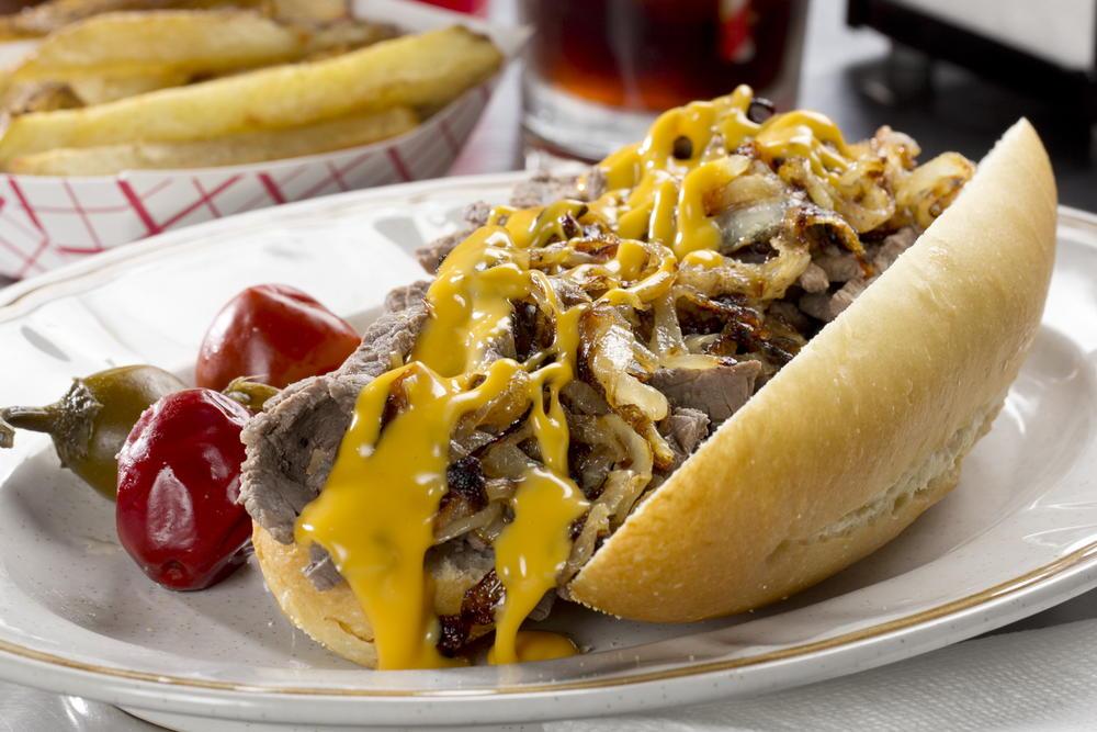 Philly Cheese Steak Sandwiches   MrFood.com