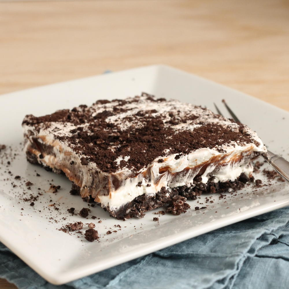 No Bake Oreo Kuchen No Bake Chocolate Oreo Lasagna Recipelion
