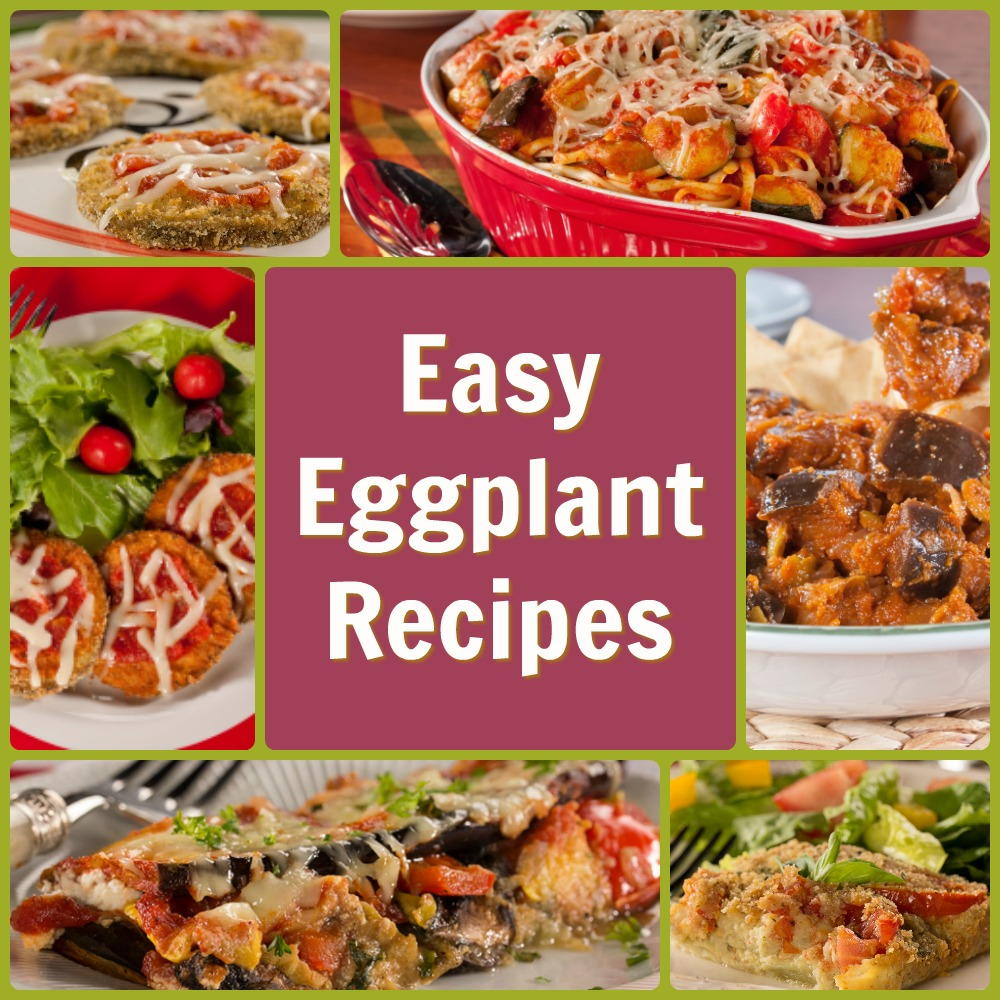 11 Easy Eggplant Recipes | EverydayDiabeticRecipes.com