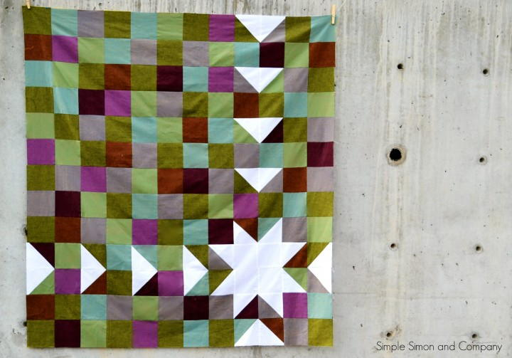 Quilt Binding Simple Sawtooth Quilt Pattern | Favequilts.com