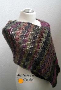 A Broomstick Lace Shawl | AllFreeCrochet.com
