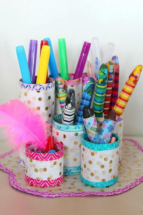 Really Cute Thanksgiving Wallpaper Thrifty Diy Pencil Holder Favecrafts Com