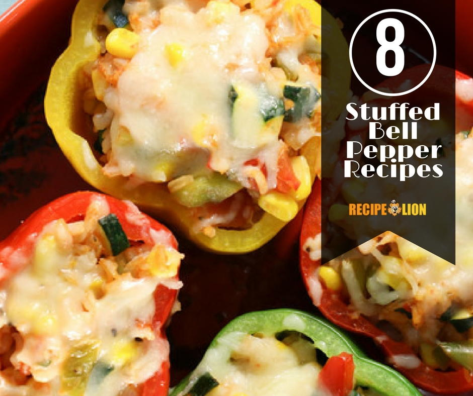 8 Fast and Easy Stuffed Bell Peppers Recipes   RecipeLion.com