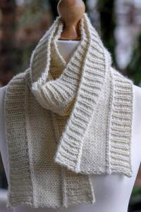 Nice and Neutral Scarf | AllFreeKnitting.com
