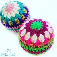 Crochet Christmas Bauble Decorations | FaveCrafts.com