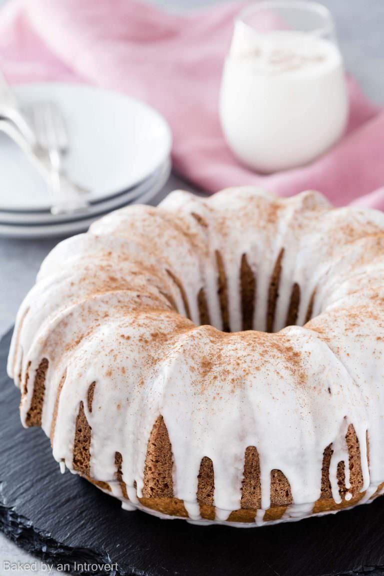 Fall Dessert Wallpaper Eggnog Cake Recipelion Com