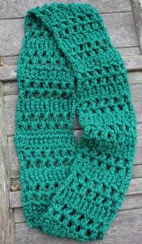 Quick Crochet Infinity Scarf | AllFreeCrochet.com