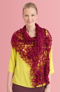 Irish Crochet Shawl | AllFreeCrochet.com