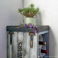 Tall Skinny PVC Pipe DIY Wine Rack | DIYIdeaCenter.com