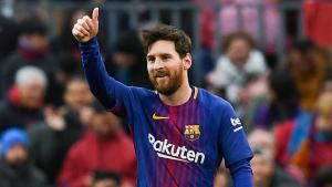 Lionel Messi guides Barcelona to victory
