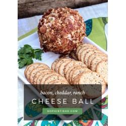 Peachy Ranch Cheese Ball Ranch Cheese Ball Entertaining Dill Cheese Ball Recipe Cheese Ball Recipe Nz nice food Best Cheese Ball Recipe