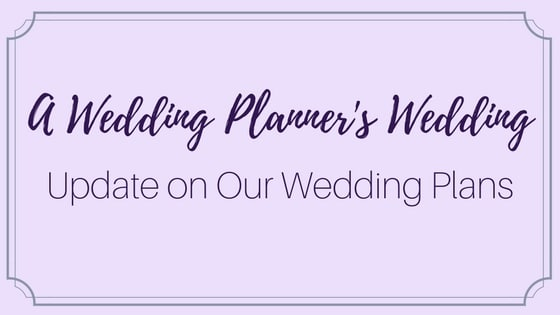 A Wedding Planner 0027s Wedding- Update on Wedding Plans - Irie Matrimony - wedding plans