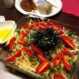 美アロマ軽食 大根サラダ