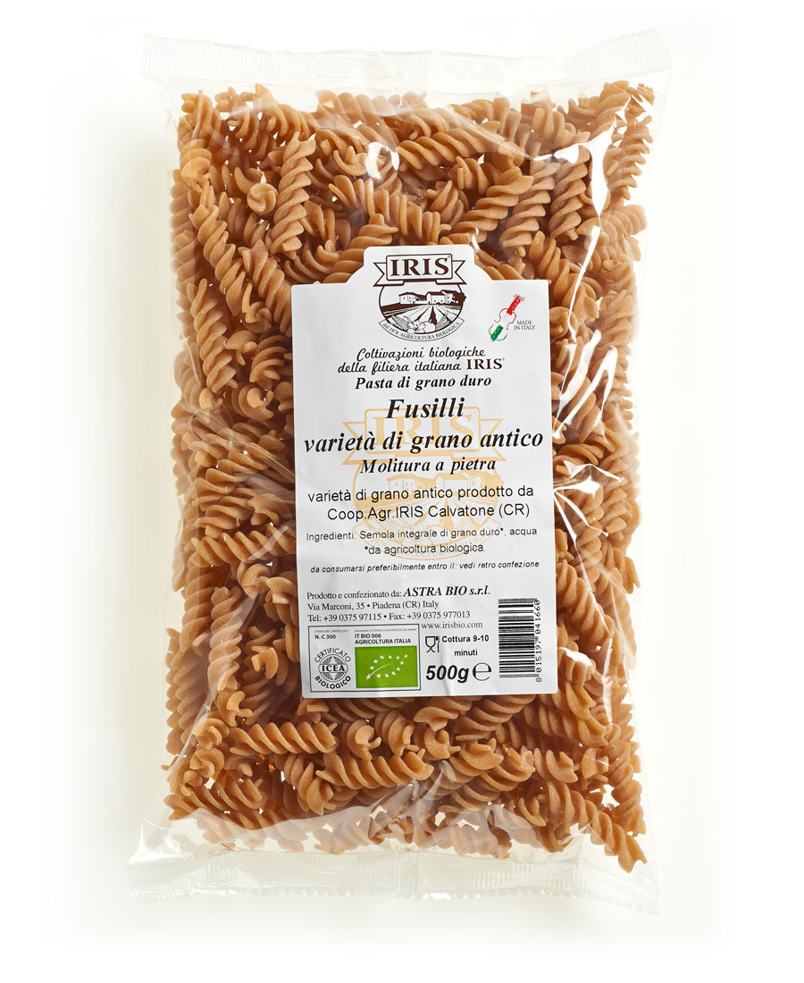 Grain Bio Iris Was Ancient Wheat Fusilli