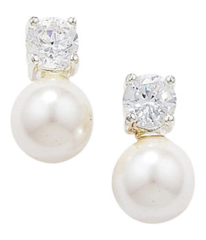 Pearl Earrings Stud