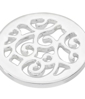 winding paths coin - Silver plated