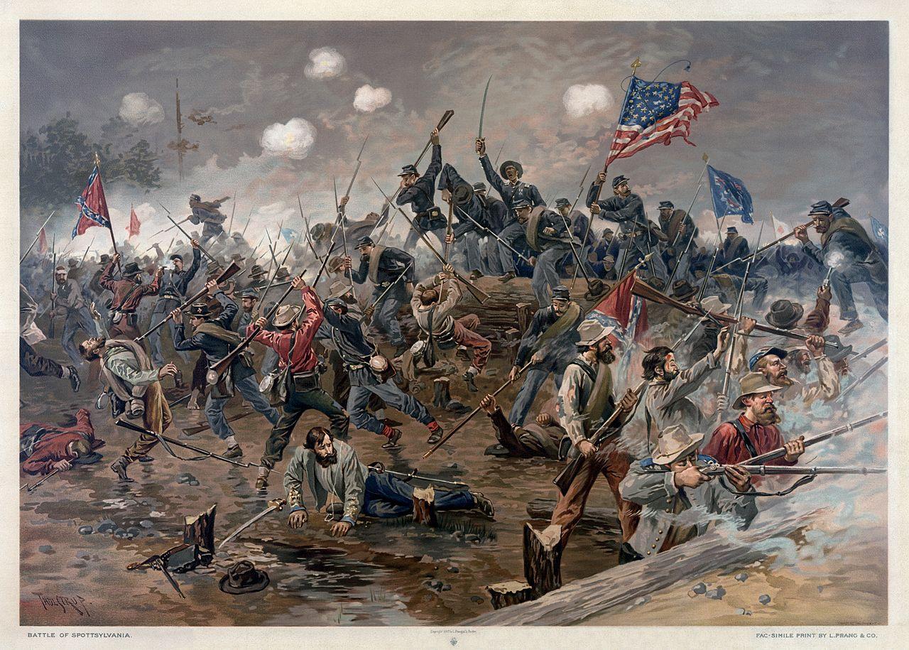 Civil War Battle Paintings
