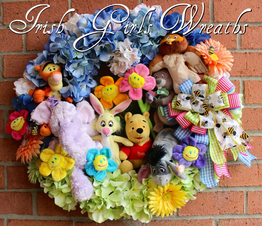Winnie the Pooh and Friends Wreath #3