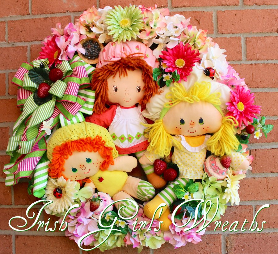 World of Strawberry Shortcake Wreath