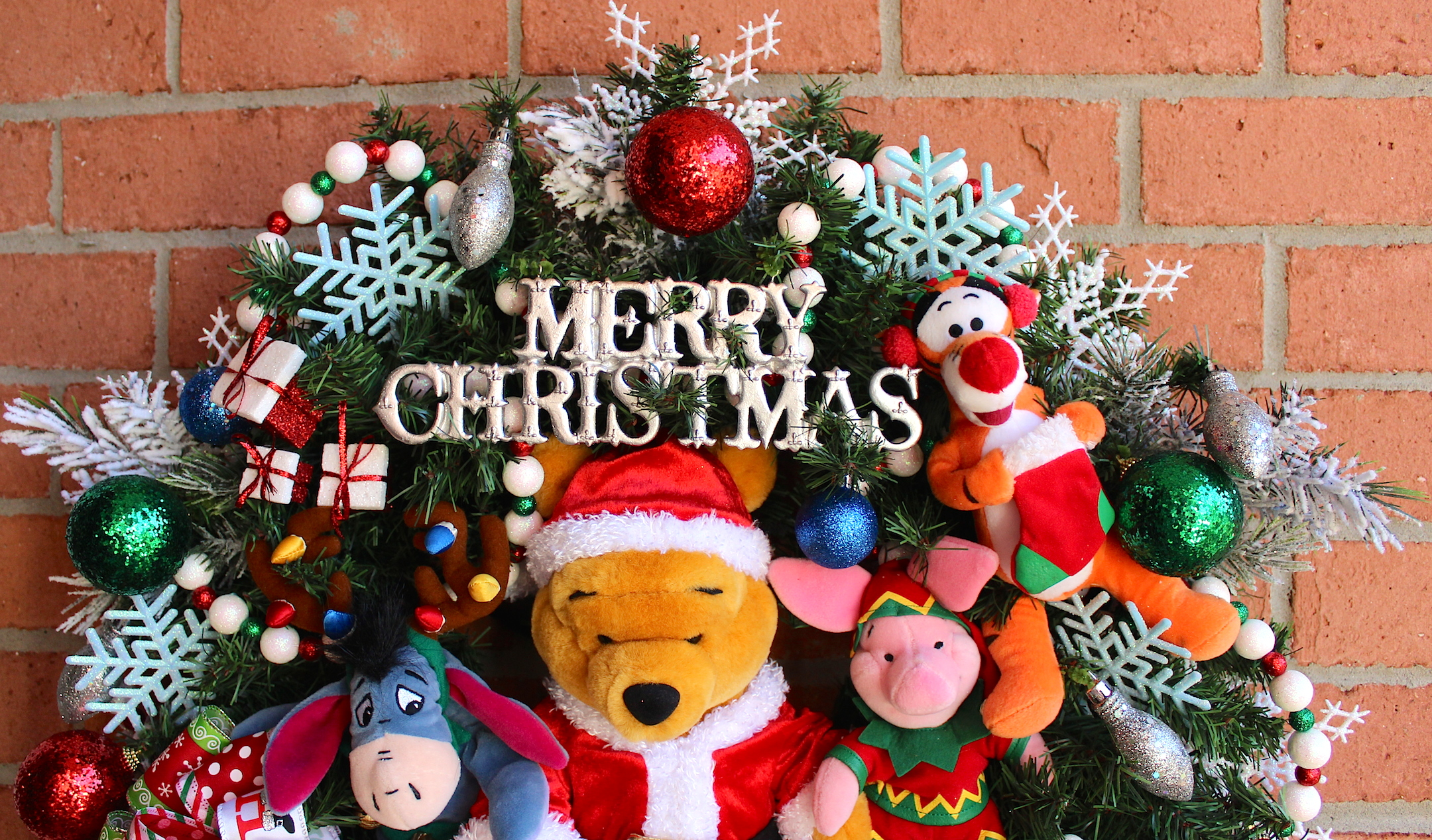 merry christmas winnie the pooh bigking keywords and pictures