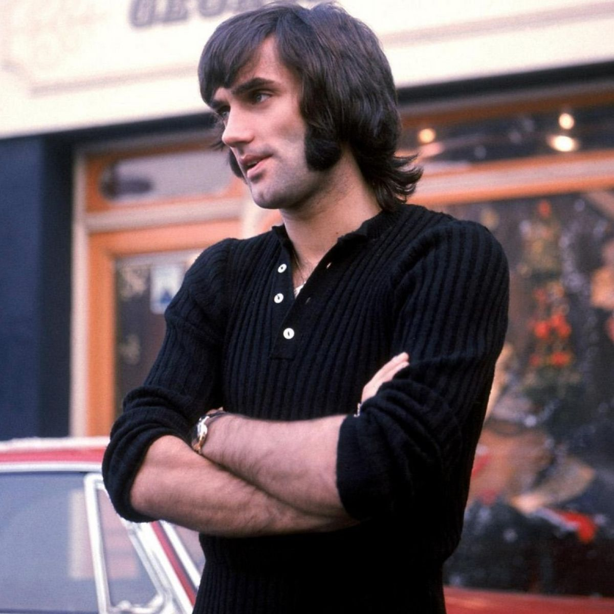 Jackie Glass Head And Shoulders Above On The Pitch But George Best Was All By